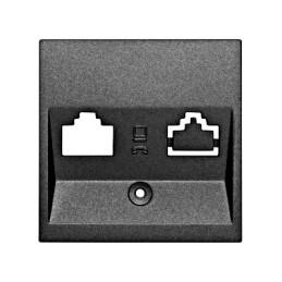 Kryt datové zásuvky 1x RJ45...