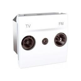 Zásuvka TV-R koncová,polar...