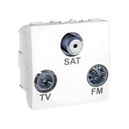 R/TV/SAT zásuvka s...