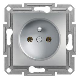 Zásuvka 2P+PE, aluminium...